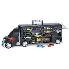Big Rig Car Carrier Case - Educational Toys, Specialty Toys & Games - Creative, Award Winning for Science, Math and Online Shopping For Boys, Girls Shopping, Brand Stickers, Car Carrier, Science Kits, Electronic Toys, Kids Zone, Toy Rooms, Toys Online