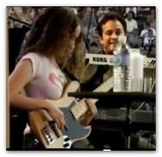 Tal Wilkenfeld Jamming with JEFF BECK