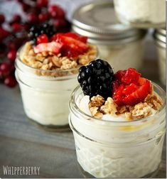 Healthy Snacks in Jars - Mason Jar Crafts Love