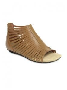Clarks Women Brown Olbia Dazzle Leather Sandals