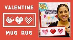 Make an Easy Paper Pieced Valentine's Day Mug Rug (Always Great, Always Free Quilting Tutorials) Quilting Tutorials, Quilting Projects, Sewing Projects, Crafty Gemini, Valentines Mugs, Valentine Ideas, Mug Rug Patterns, Miniature Quilts, Lap Quilts