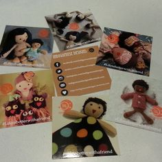 My square #moocards arrived today! Loving how they turned out. It's finally starting to feel real, y'all! #IndigoMuseFriends #IndigoMuseDesigns #toys #dolls #kids #cute #sweet #softies #stuffies #plushies #handmade #comingsoon #bhavanashaktifriends #twee #tweegram #multicultural #genderneutraltoys #lifeisbetterwithafriend #Fridaywithafriend #friends #IndigoMuseFriendgram