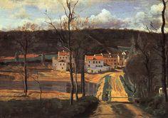Jean-Baptiste Camille Corot Landscapes | Paintings by Jean-Baptiste-Camille Corot