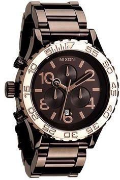 Sale Alert Free Shipping No min req. ** Nixon 'The 42-20 Chrono' Watch