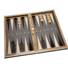 love this chic backgammon set