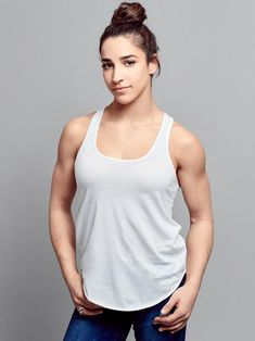 Get An Epic Pep Talk From 25 Olympic Athletes Olympic Gymnastics, Gymnastics Girls, Acrobatic Gymnastics, Olympic Games, Aly Raisman Swimsuit, Female Gymnast, Olympic Athletes, Muscular Women, Muscle Girls