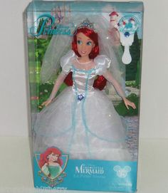 Disney Ariel Wedding Doll LIttle Mermaid Princess Theme Parks Collection