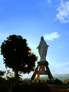 Holy Mary Statue at Nilo Hill - Maumere, East Nusa Tenggara, Indonesia