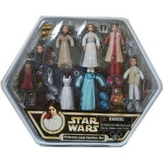 Star Wars Princess Leia Fashion Set: I think my 6-year-old would like these now that she is getting into Star Wars!