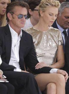 Sean Penn ♥ Charlize Theron