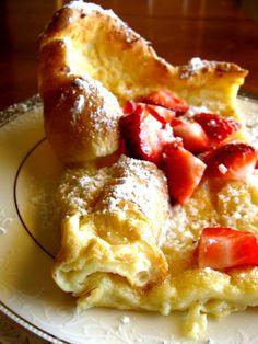 Sugar Bananas: Puffy German Pancake