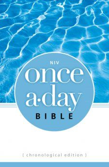 The NIV Once-A-Day Bible: Chronological Edition organizes the New International Version Bible---the world's most popular modern-English Bible---into 365 daily readings placed in chronological order. This softcover edition includes a daily Scripture reading followed by a short devotional thought written by the staff at the trusted ministry Walk Thru the Bible. All Scripture is inspired by …
