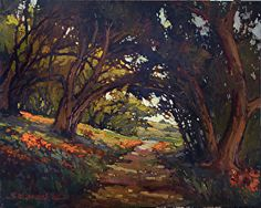 """Pasadena Hillside"" by Jan Schmuckal found in today's Daily Art Show | FASO http://dailyartshow.faso.com/20121008/991768"