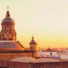 #goldenhour #sunset #seville #sevilla #spain