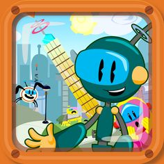 Zachy the Robot: The Leaning Tower of Robocity -   Zachy the Robot: The Leaning Tower of Robocity is an interactive cartoon for kids ages 3-7!  Kids! Join Zachy and his friends, the Repairbots, as they save the day in Robocity!