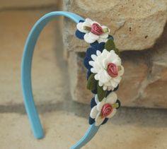 Inspiration: Daisy flower headband in felt