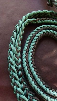 Horse Tack: Adjustable 9ft Paracord Barrel by GypsysEquinePARATack