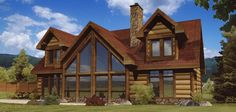 Alpine Meadow III - Log Homes, Cabins and Log Home Floor Plans - Wisconsin Log Homes