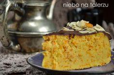 niebo na talerzu: Ciasto z dynią z kaszy jaglanej. Sernik jaglany z dynią