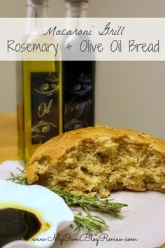 Romsemary + Olive Oil Bread Recipe ~ My Own Blog Review