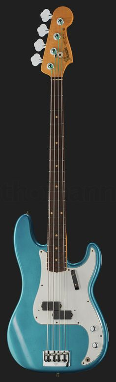 Fender Post.Journeyman R P-Bass ALPB Fender P Bass, Fender Precision Bass, Bass Guitars, Chris Squire, I Love Bass, Custom Bass, Telecaster Guitar, Vintage Guitars, Jazz