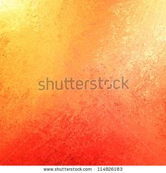 abstract orange background or red background with bright colorful background with vintage grunge background texture gradient design or Halloween or warm autumn background invitation or web template - stock photo