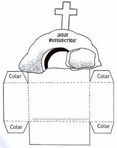 Escolinha Bíblica da Garotada: Resurrection Craft