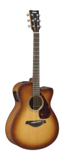 Yamaha FSX700SC Small Body Solid Top Acoustic-Electric Guitar, Brown Sunburst Yamaha http://www.amazon.com/dp/B009RIK4MK/ref=cm_sw_r_pi_dp_zjp1wb0YQR951