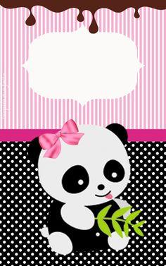 Panda Birthday Party, Panda Party, Panda Bebe, Cute Panda, Foam Crafts, Diy And Crafts, Crafts For Kids, Panda Baby Showers, Cartoon Panda