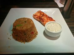 Fish with fried rice!