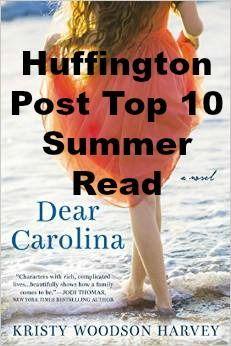 Top ten summer read - Dear Carolina from debut Author, Kristy Woodson Harvey - #dearcarolina