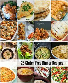 25 Gluten Free Dinner Recipes