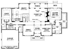 House plans for my kids on pinterest house plans floor House plans without dining room
