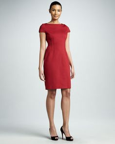 Davis Sheath Dress by Elie Tahari at Neiman Marcus.