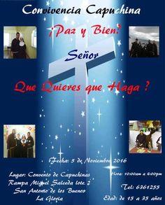 ¿Vives en Tijuana o alrededores? Estás invitado a la próxima convivencia capuchina mixta. Atrévete a pasar un día de agradable convivencia y de conocimiento de nuestro carisma franciscano y clareano.