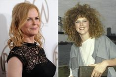 Celebrity Hair Styles, Then And Now