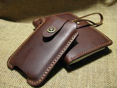 25 Off Hand Stitched leather case for iphone