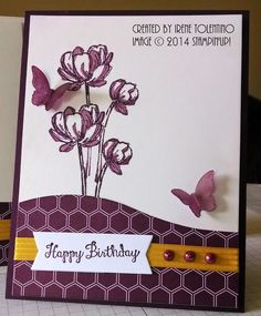 Relax. Make a Card: Bloom with Hope Swap Birthday Card