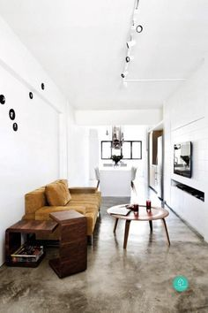 Big is not always beautiful when it comes to the home, as these fabulous three-room HDB flats show...