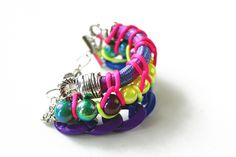 The Buzz - USD48   #jewelry #neon #accessories #necklace #colors #crafts #fashion #tribal