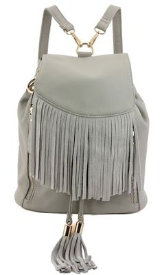 Gloria Fringe Backpack - 2 colors available