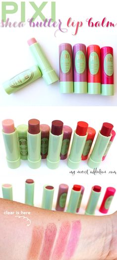 Pixi Shea Butter Lip Balm - My Newest Addiction Beauty Blog