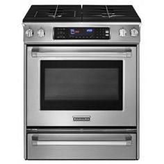 KitchenAid 30 In. Stainless Steel Gas Range - KGSS907XSP