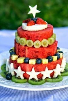 Resultado de imagem para bolo melancia