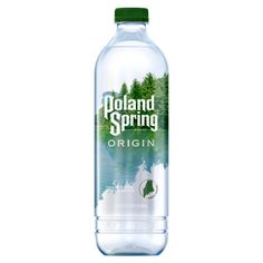 Water Packaging, Beverage Packaging, Bottle Packaging, Natural Spring Water, Bottle Shop, Poland Springs, Mineral Water, Spring Nature, Product Label