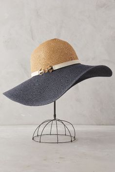 Loire Floppy Hat - anthropologie.com Now this is a floppy hat