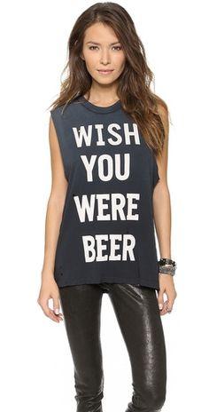 UNIF Wish You Were Beer Tank | SHOPBOP