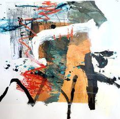 "Saatchi Art Artist Jane Kenyon; Painting, ""Easy Peasy"" #art"
