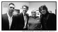 Photo 333 of 365 HANSON & Rebel Wilson 2013 - The Tonight Show with Jay Leno - Los Angeles CA  Here's a shot of us with the extremely funny & talented Rebel Wilson, from yesterday's taping of The Tonight Show. Who managed to catch the show?  #Hanson #Hanson20th