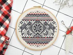 modern cross stitch kit / Christmas in Norway Modern Cross Stitch, Cross Stitch Kits, Cross Stitch Designs, Cross Stitch Patterns, Norway Christmas, Christmas Cross, Orange Cushions, Tattoo Kits, Shops